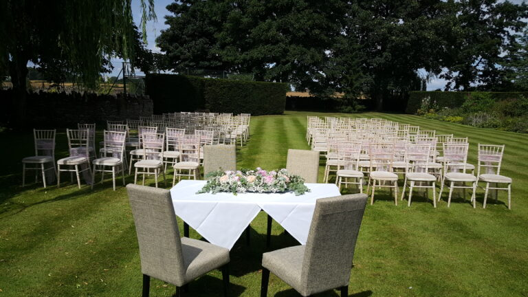 Ceremony - Coach House Lawn